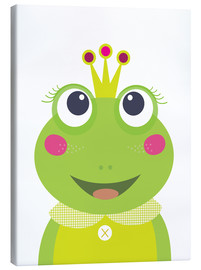 Canvastavla  Princess Frog - Jaysanstudio