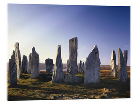 Akrylglastavla  Rock of Callanish - Thonig