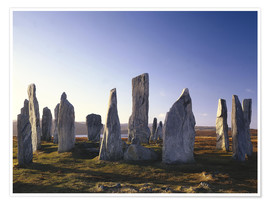 Premiumposter  Rock of Callanish - Thonig