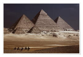 Premiumposter  Pyramids of Giza, Middle East - Catharina Lux
