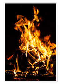 Poster  Fireplace