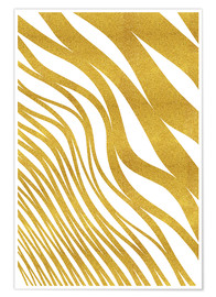 Premiumposter Golden Wave