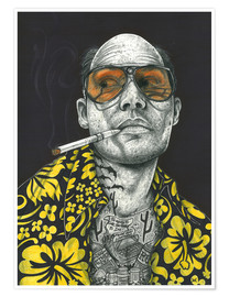 Premiumposter  Fear and Loathing - Inked Ikons