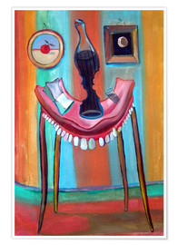 Premiumposter  Table with teeth - Diego Manuel Rodriguez