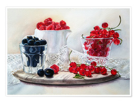 Poster summer berries