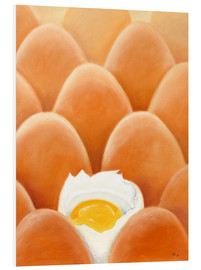 PVC-tavla  Fresh farm eggs - Monica Schwarz