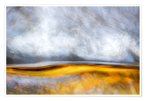 Poster Abstract Silver and Gold