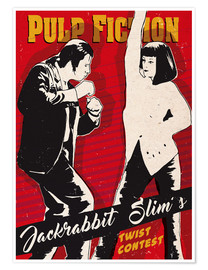 Poster  Pulp Fiction twist contest - 2ToastDesign