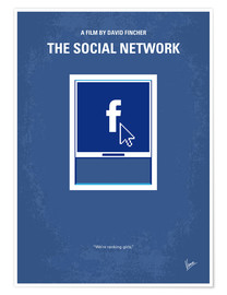 Poster No779 My The Social Network minimal movie poster