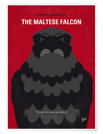Poster No780 My The Maltese Falcon minimal movie poster