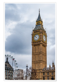 Premiumposter Big Ben