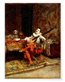 Premiumposter The Lute Player