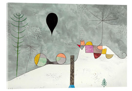Akrylglastavla  Winter picture - Paul Klee