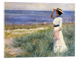 Akrylglastavla  Looking out to Sea - Paul Fischer