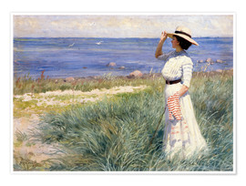 Premiumposter  Looking out to Sea - Paul Fischer