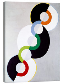 Canvastavla  Endless rhythm - Robert Delaunay