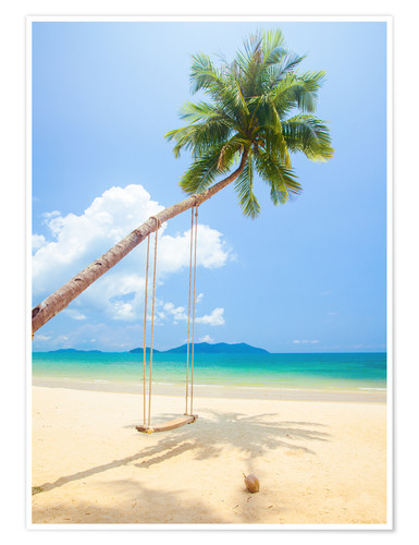 Poster Palm swing