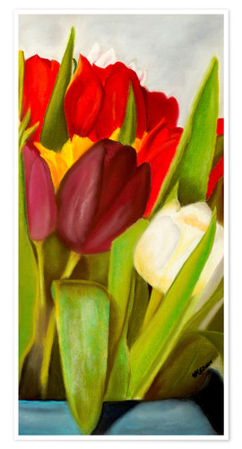 Premiumposter Cheerful spring colors