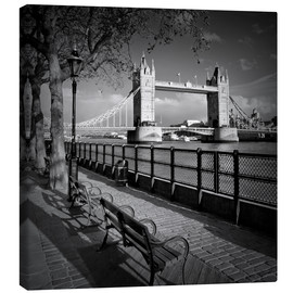 Canvastavla  LONDON Tower Bridge - Melanie Viola