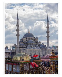 Premiumposter  A mosque in Istanbul