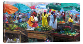 Canvastavla  castries market - Jonathan Guy-Gladding