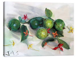 Canvastavla  guavas and ixora2 - Jonathan Guy-Gladding