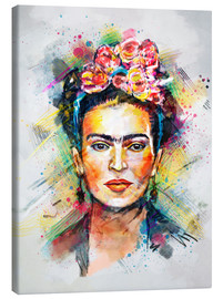 Canvastavla  Frida Flower Pop - Tracie Andrews