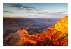 Premiumposter  Sunset on Grand Canyon South Rim, USA - Matteo Colombo