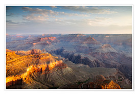 Premiumposter  Sunrise of Grand Canyon South Rim, USA - Matteo Colombo