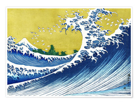 Premiumposter The Great Wave off Kanagawa