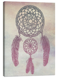 Canvastavla  Dream Catcher Rose - Rachel Caldwell