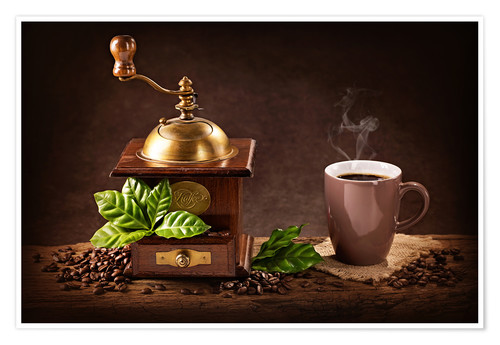 Premiumposter Coffee grinder