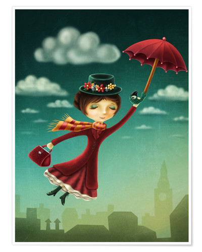 Premiumposter Mary Poppins