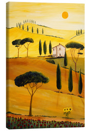 Canvastavla  Colored Tuscany - Christine Huwer
