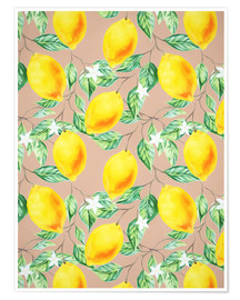 Premiumposter Lemon Fresh
