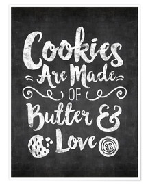 Premiumposter cookies are made with love