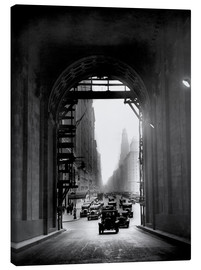 Canvastavla  Arch at Grand Central Station - historical