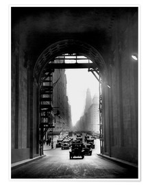 Premiumposter  Arch at Grand Central Station - historical