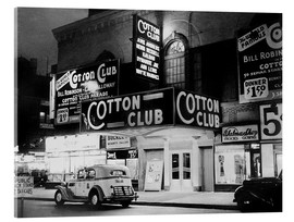 Akrylglastavla  Cotton Club i Harlem, New York