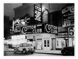 Premiumposter  Cotton Club i Harlem, New York