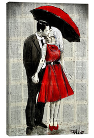Canvastavla  She was wearing red - Loui Jover