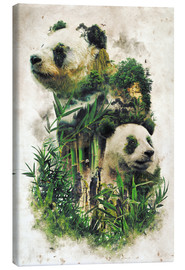 Canvastavla  The Giant Panda - Barrett Biggers