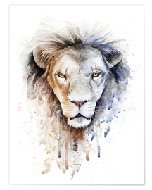 Premiumposter astrological sign Leo