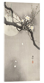 Akrylglastavla  Plum Blossoms at Night - Ohara Koson
