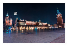 Premiumposter World Famous Cracow Main Square