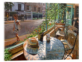 Akrylglastavla  Greenwich Cafe - Johnny Morant
