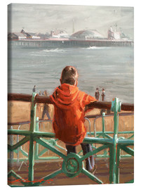 Canvastavla  Pier of Brighton - Johnny Morant