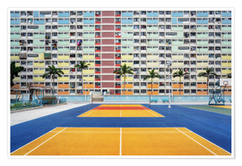 Premiumposter  Living in a rainbow, Hong Kong - Dennis Fischer
