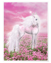 Premiumposter  Unicorn Glitter - Dolphins DreamDesign