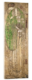 Akrylglastavla  O Ye All Ye That Walk in Willow Wood - Margaret MacDonald Mackintosh
